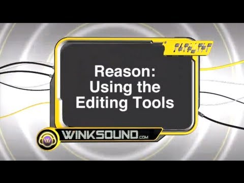 Propellerhead Reason: Overview Of The Editing Tools | WinkSound