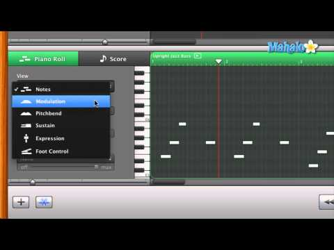 Learn GarageBand in 30 Days: Track Editor for MIDI - Pen Tool Overview