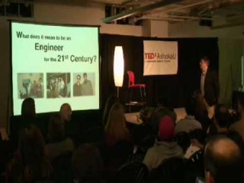 TEDxAshokaU - Bernard Amadei - 2/19/10