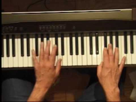 Piano Lesson - How to Play the F#/Gb major scale (left hand)