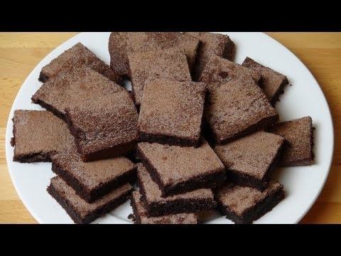 Gluten Free Chocolate Brownies - RECIPE
