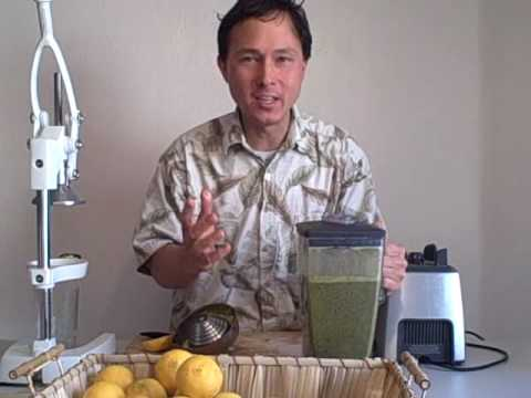 Easy Green Smoothie Recipe - Using Oranges and Greens