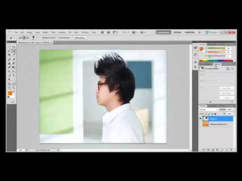 Photoshop Tutorial : How to use Masks and Channels in Adobe Photoshop CS5