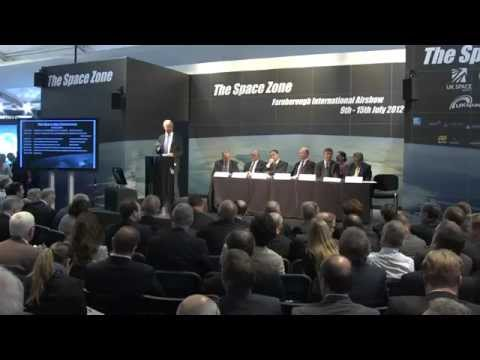 Space for knowledge, competitiveness & growth - Space day conference Farnborough 2012 - 10th July