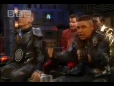 Car chase - Red Dwarf - BBC comedy