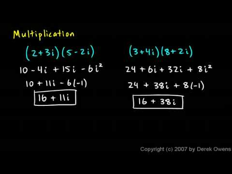 Complex Numbers, Part 4 - Mathematical Operations