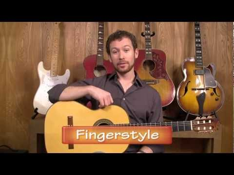How to Play Guitar with Your Fingers (Fingerstyle) - Preparing to Play Guitar | StrumSchool.com