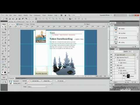 Adobe Fireworks: How to import pages | lynda.com tutorial
