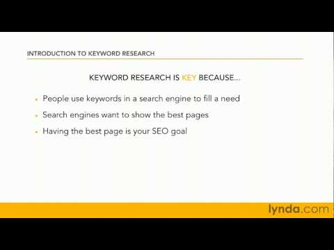 How to use SEO keyword phrases | lynda.com tutorial