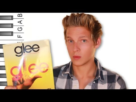"How to Play ""One of Us/People Get Ready"" (Glee Version) on Piano"