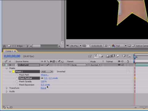 After Effects Tutorial - 18 - Editing Mask Properties