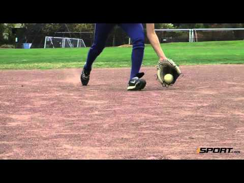 How to Charge the Ball in the Infield in Softball