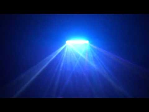 ADJ  FUSION FX BAR 2 In the dark with smoke
