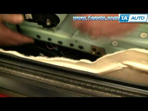 How To Install Replace Door Panel Silverado Sierra Avalanche Yukon Tahoe Suburban 07-11 1AAuto.com