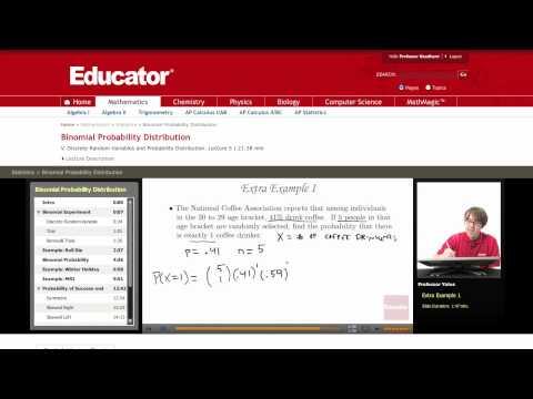 Statistics: Binomial Probability Distribution