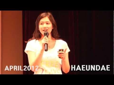 TEDxHaeundae - 박서윤 - 지구에게 선물하는 나의 일주일 - 21/04/2012
