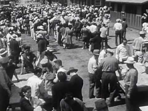 Japanese Relocation - U.S. Gov't Explanation 1942   (Japanese Internment Camps)