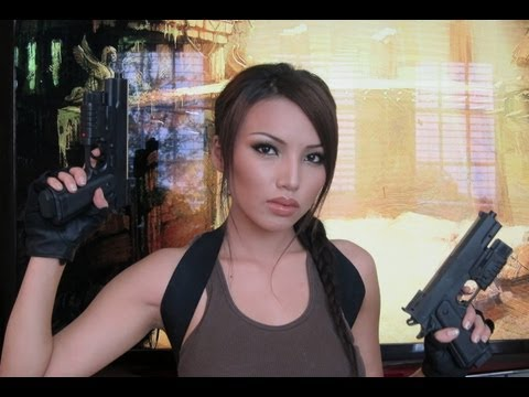 Video Game Lara Croft ( Tomb Raider) Make-up Tutorial  !!!