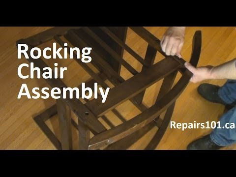 Time Lapse Rocking Chair Assembly