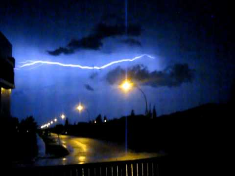 Saskatoon Lightning Storm July10, 2012