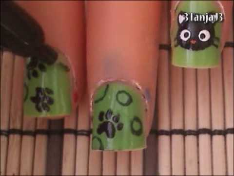 Sanrio#2: *Chococat* Nail Art Design - Short Nails