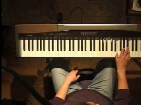 Piano Lesson - Blues Riff in C