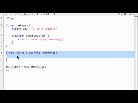 PHP Tutorial - 42 - Inheritance
