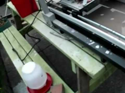 Tips for  10 inch wet tile saw.  (save time and money)