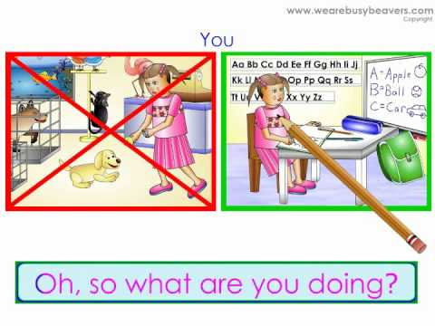 What are you doing? (Negative) - Learn English Grammar