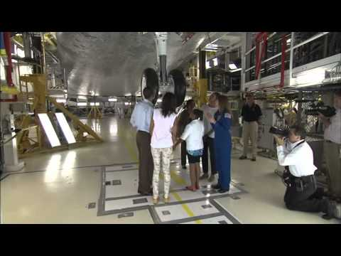 President Obama Visits Kennedy Space Center - Long Version