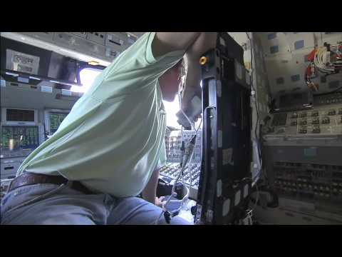 Shuttle Atlantis: From the Inside
