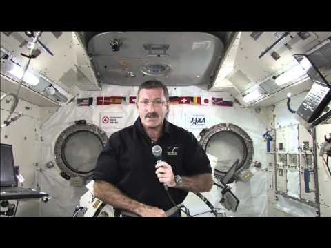 Station Commander Discusses Life and Work in Orbit with Florida Media