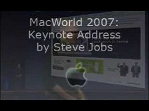Steve Jobs 2007 Keynote (spoof video)