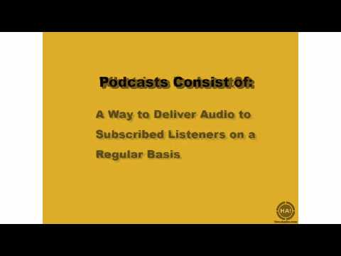 Podcasting: Introduction - What is a Podcast?