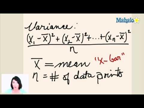 Statistics: Range, Variance and Standard Deviation