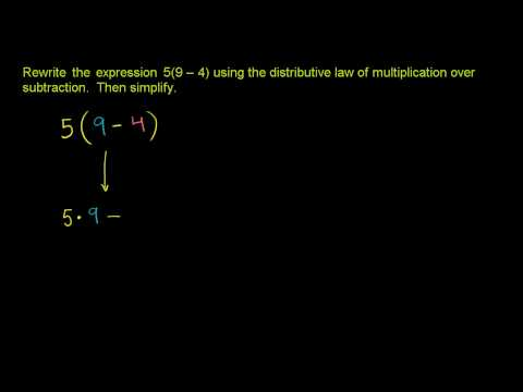 The Distributive Property 2