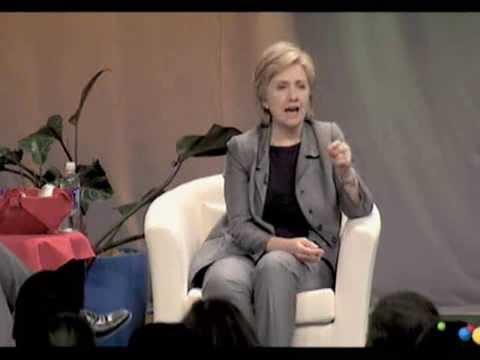 Women@Google: Hillary Clinton