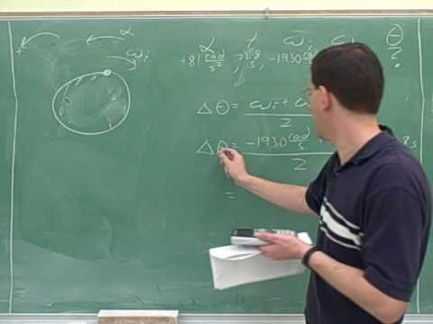 Physics: Rotational kinematics and torque (5)