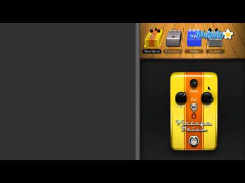 Learn GarageBand in 30 Days: Overdrive Pedal