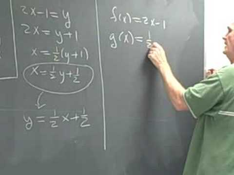 Ma 112: Precalculus: Inverse Functions Section 2.5  part 3