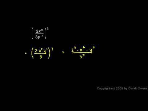 Algebra Review 8.8 - Exponents