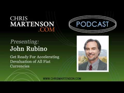 John Rubino: Get Ready For Accelerating Devaluation of All Fiat Currencies
