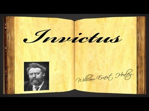 Invictus by William Ernest Henley - Poetry Reading