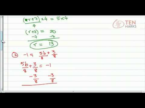 Two Step Rational Equations