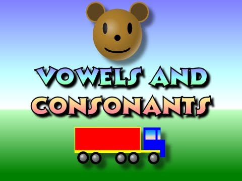 Children's: Vowels and Consonants