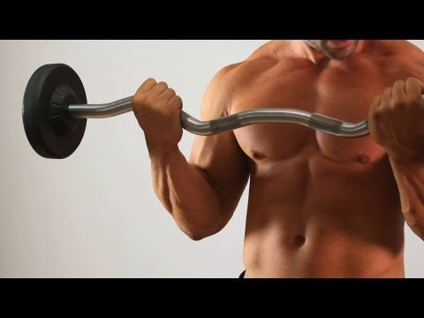 Barbell Curl | Home Arm Workout for Men