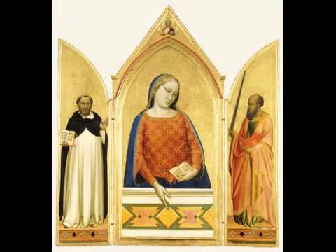 The Virgin Mary with Saints Thomas Aquinas and Paul, Bernardo Daddi