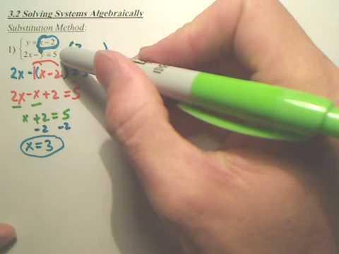 Algebra 2   3.2a