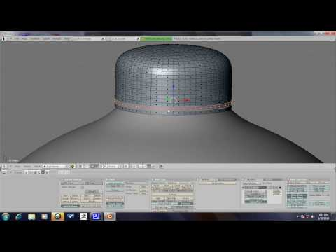 Blender Tutorial - Christmas Tree Ornament Part 1/3