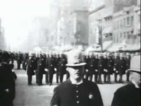 Buffalo police on parade